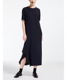 バックサテンロング ドレス【送料無料】